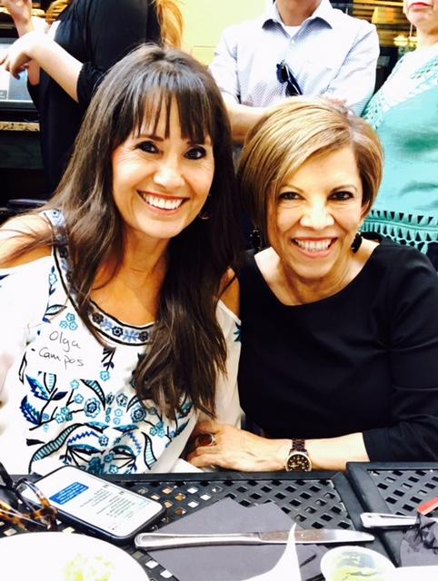 With Amalia Rodriguez-Mendoza